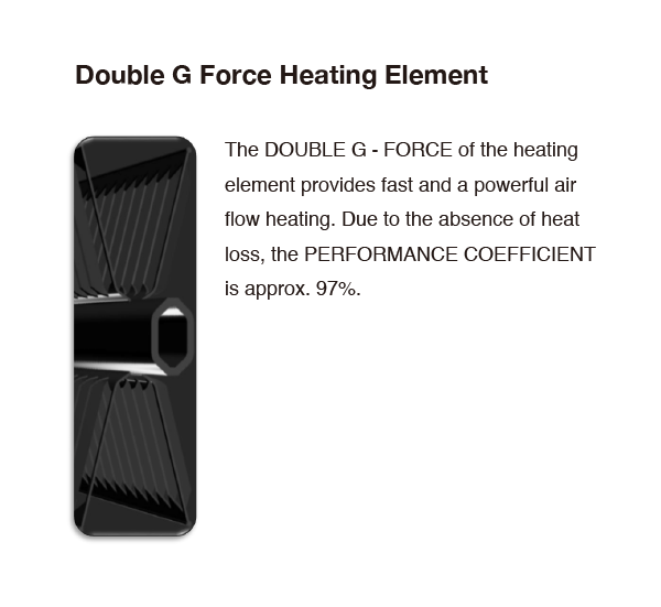 Duble G Force Heating Element
